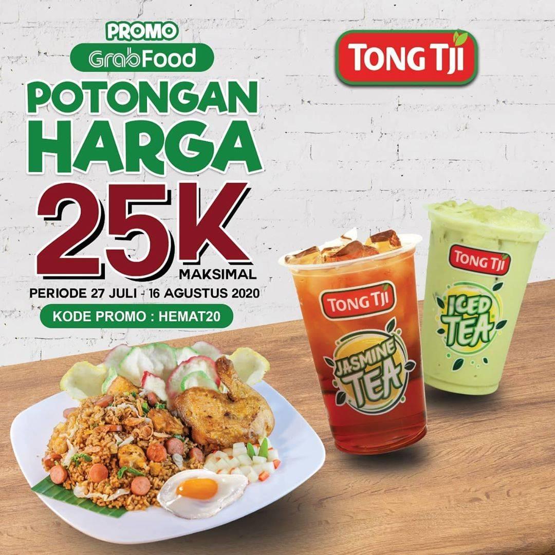 Diskon Promo Tong Tji Diskon 20% Untuk Pemesanan Menu Melalui GrabFood