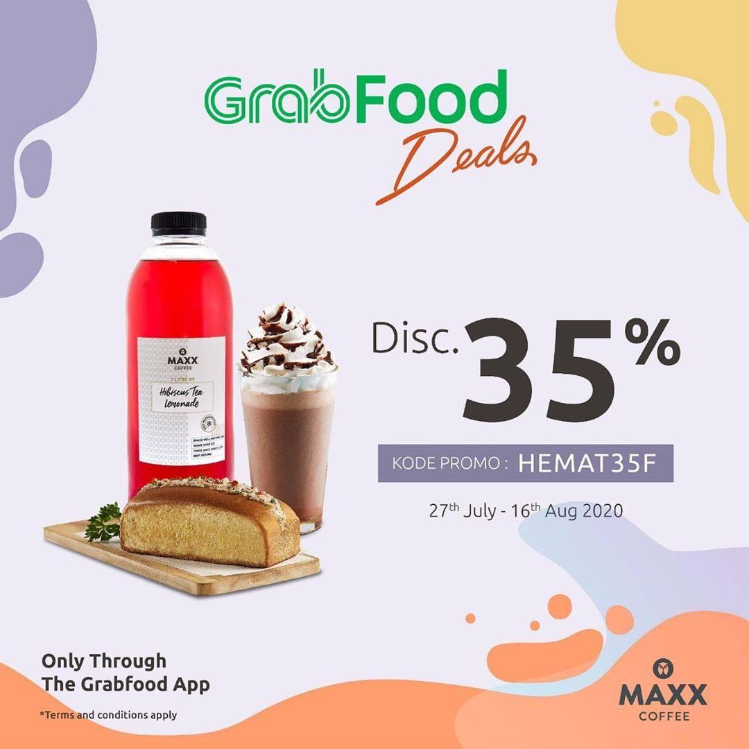 Diskon Promo Maxx Coffee Diskon Hingga 35% Untuk Pemesanan Melalui GrabFood