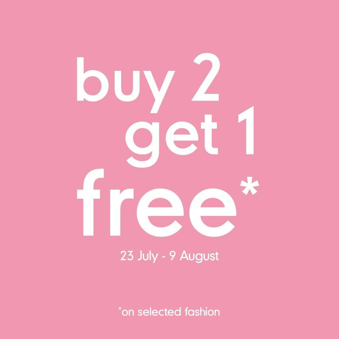 Diskon Promo Mothercare Buy 2 Get 1 Free On Selected Fashion