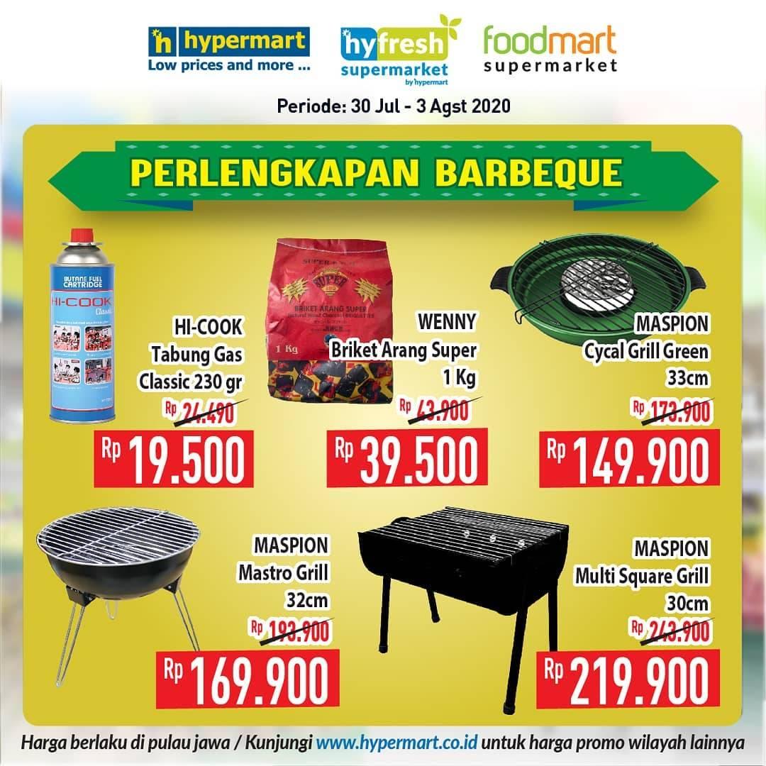 Diskon Katalog Promo Hypermart Peralatan Bbq Periode 30 Juli - 3 Agustus 2020