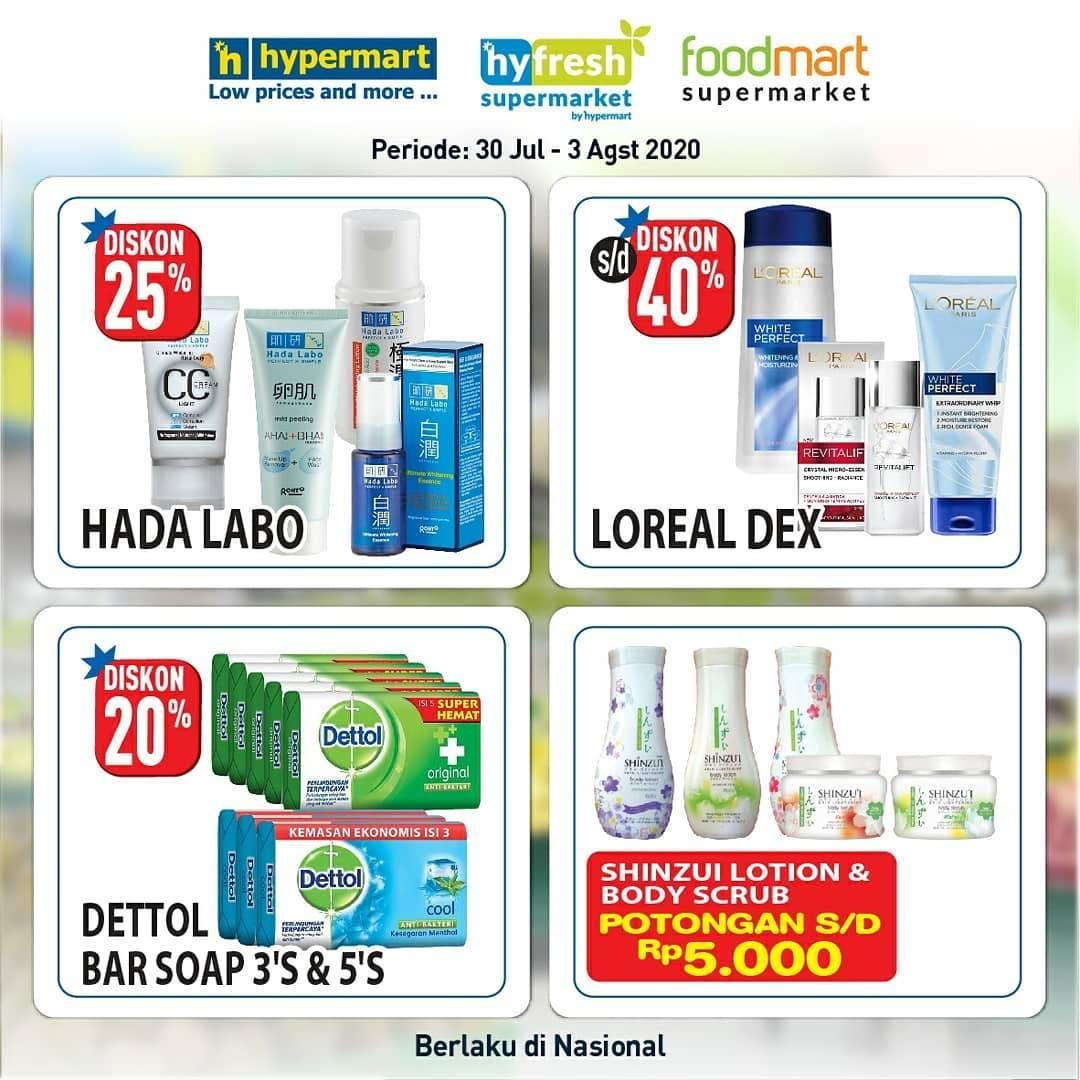 Diskon Katalog Promo Hypermart Non Grocery Periode 30 Juli - 3 Agustus 2020