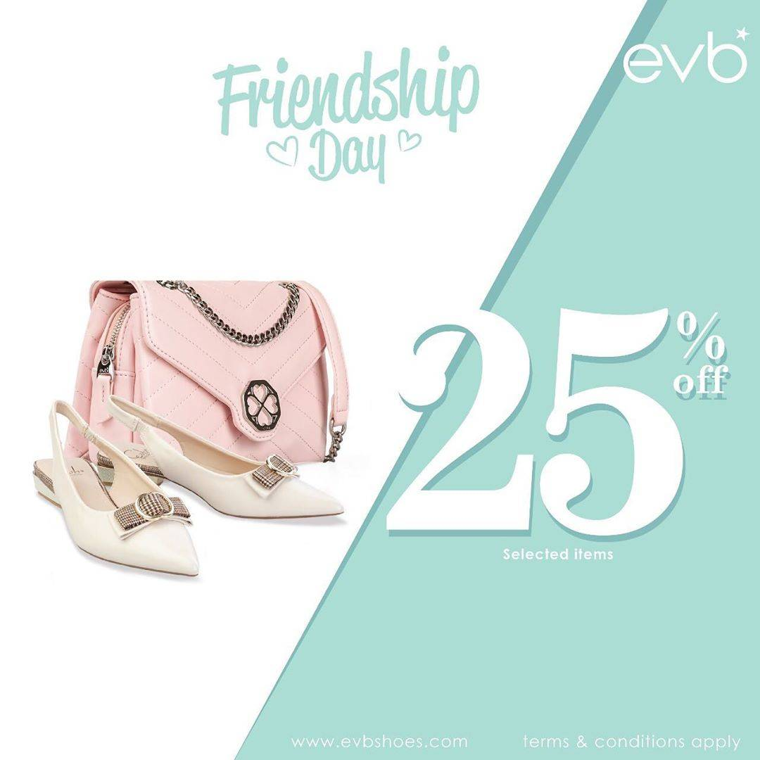 Diskon Promo EVB Friendship Day Discount 25% Off On Selected Items
