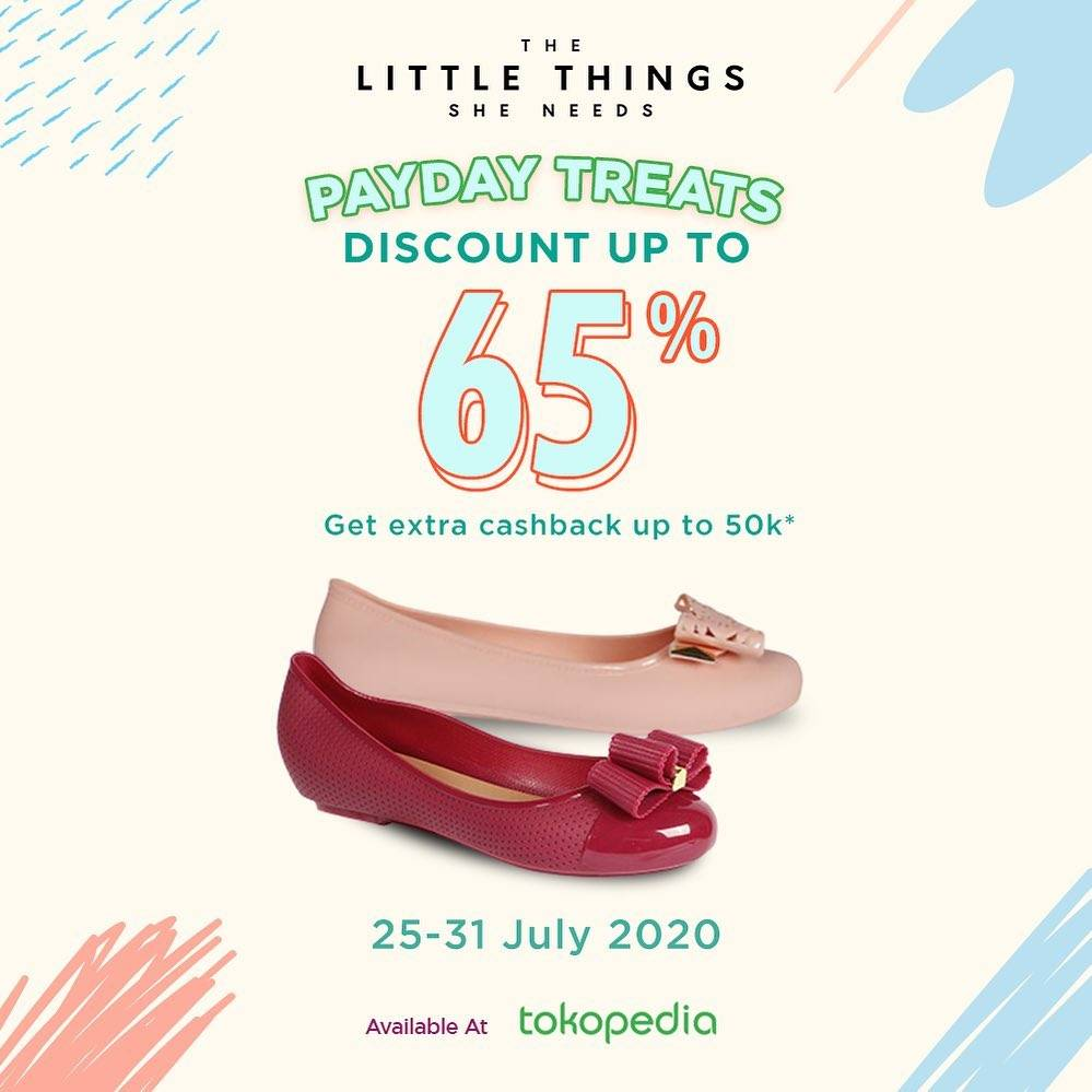 Diskon Promo The Little Things She Needs Discount Up To 65% On Tokopedia