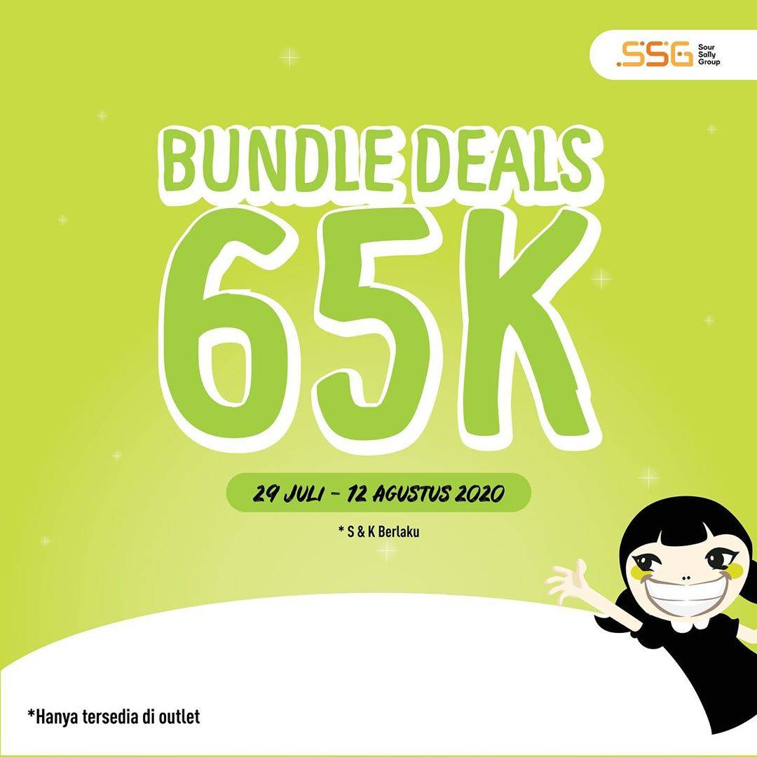 Diskon Promo Sour Sally Bundle Deals Rp. 65.000