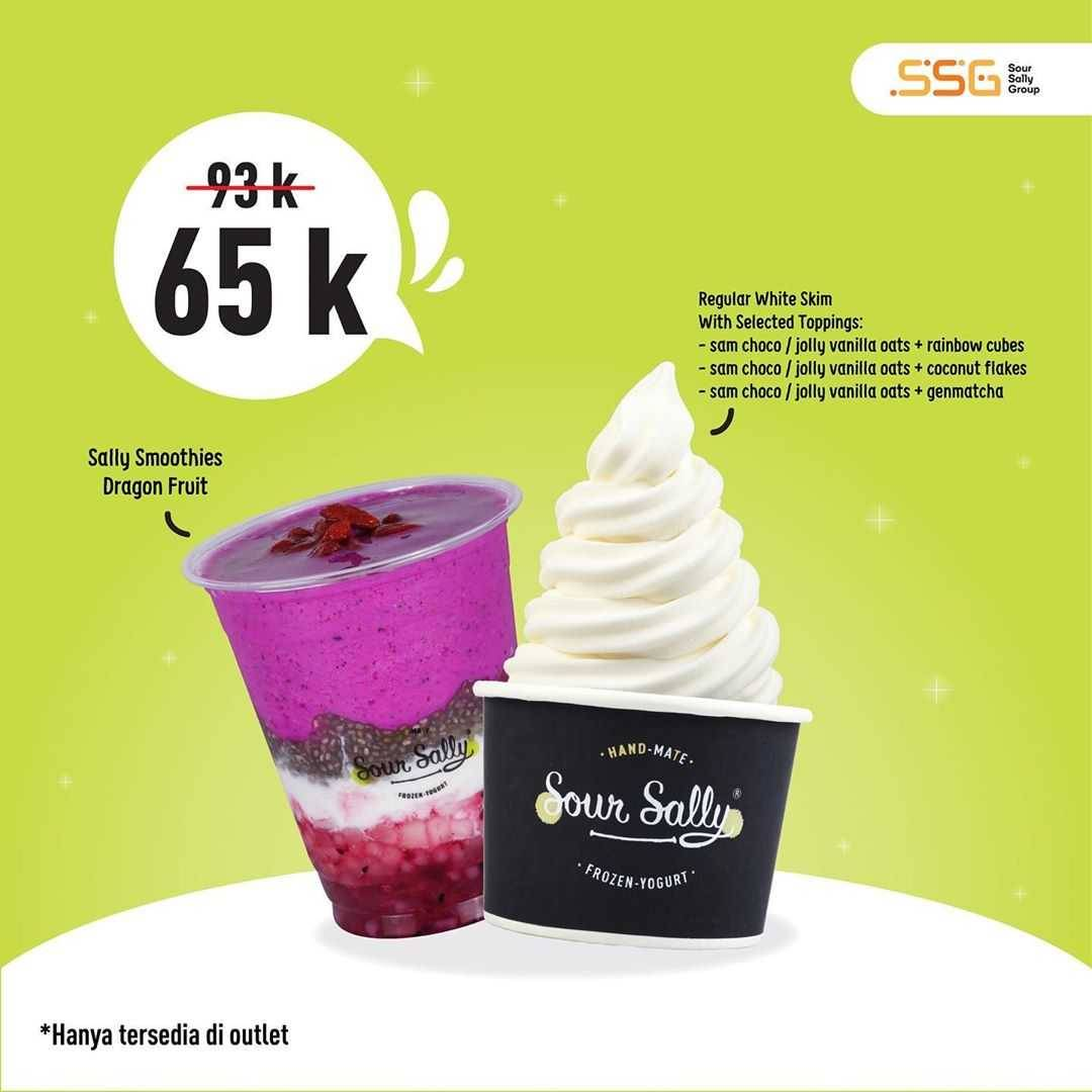 Promo diskon Promo Sour Sally Bundle Deals Rp. 65.000