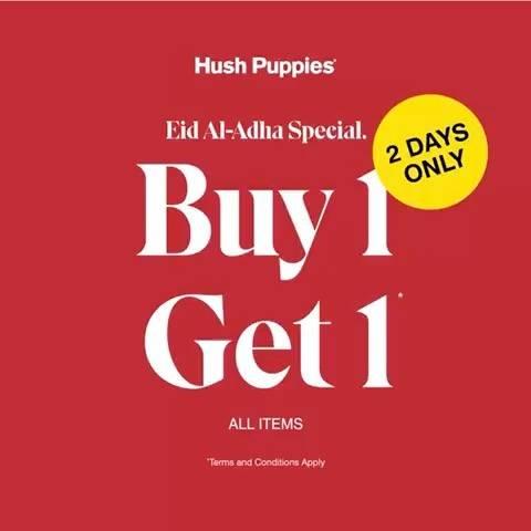 Diskon Hush Puppies Promo Buy 1 Get 1 Spesial Idul Adha