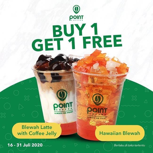 Diskon Promo Point Coffee Buy 1 Get 1 Free
