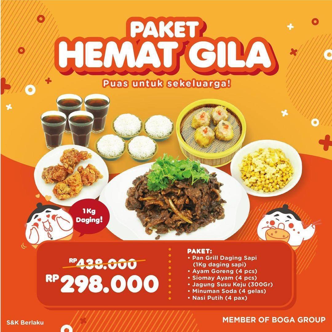 Diskon Onokabe Promo Paket Hemat Gila Hanya Rp. 298.000 Dengan GoFood