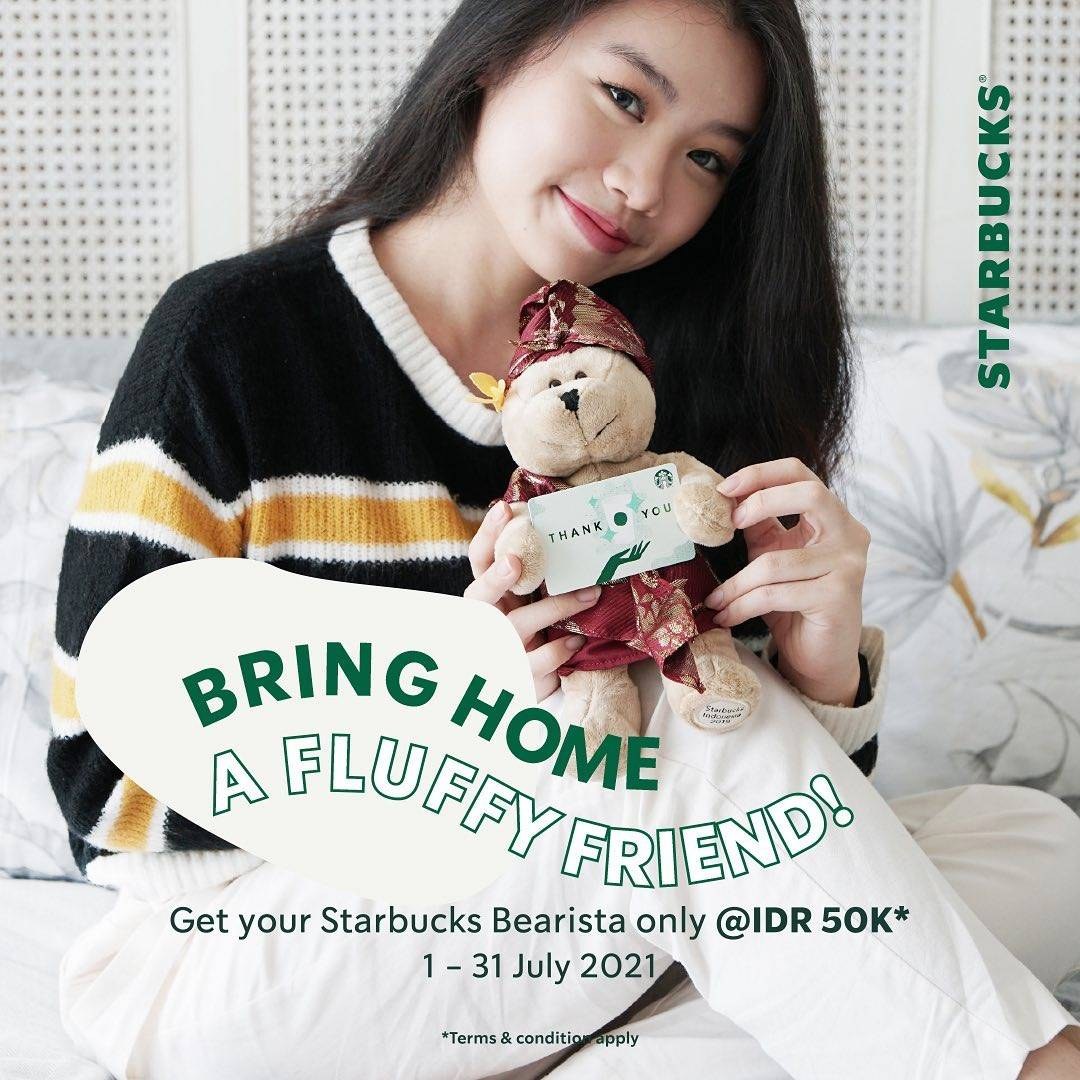 Diskon Starbucks Get Your Barista Only For Rp. 50.000 + Tumbler Day