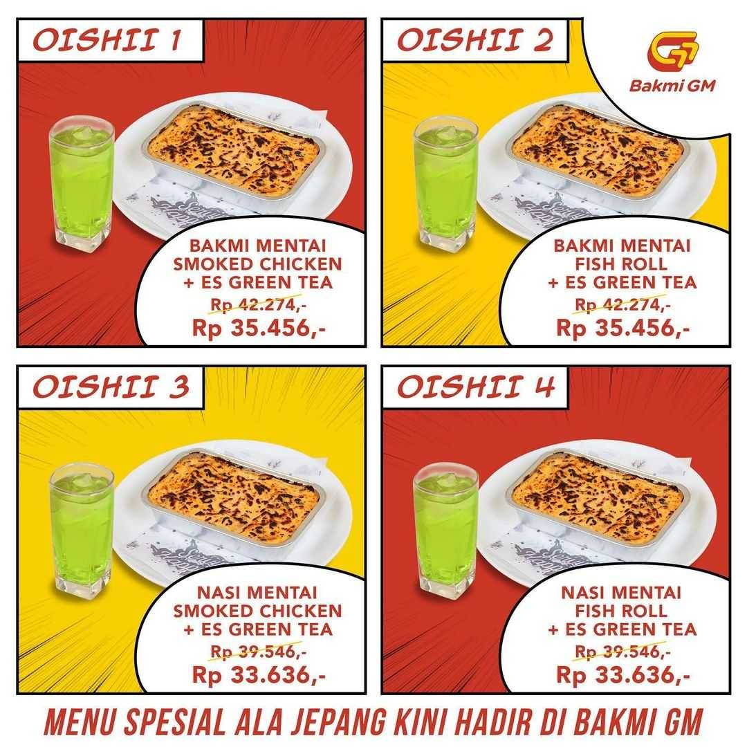 Promo diskon Bakmi GM Promo Taste Of Japan Oishi Package