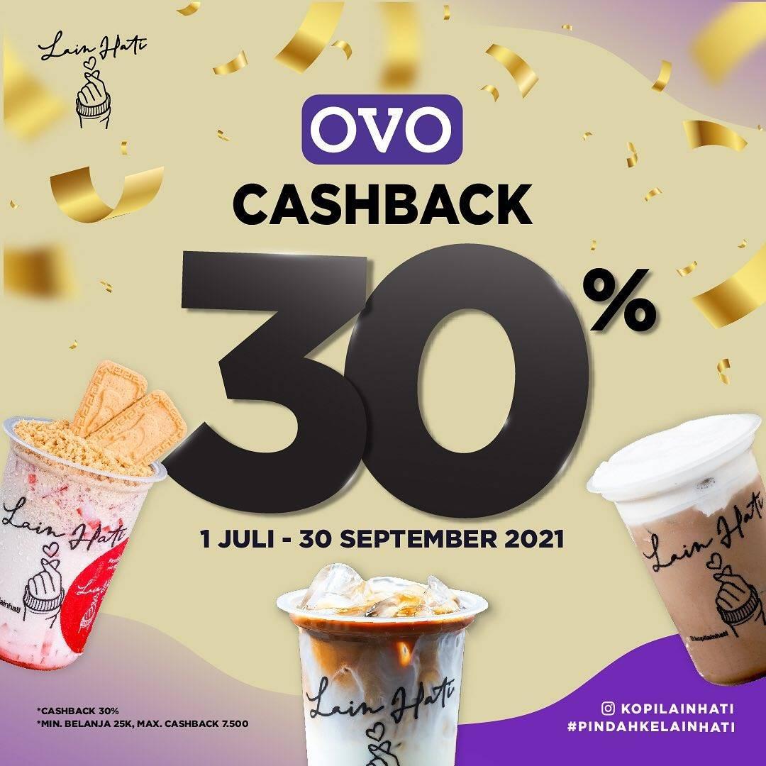 Diskon Kopi Lain Hati Cashback 30% Dengan OVO