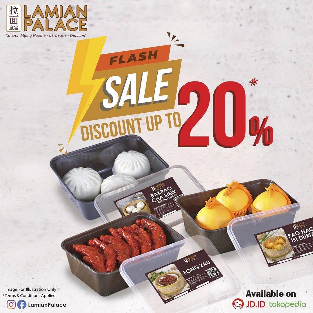 Diskon Lamian Palace Flash Sale Up To 20% Off