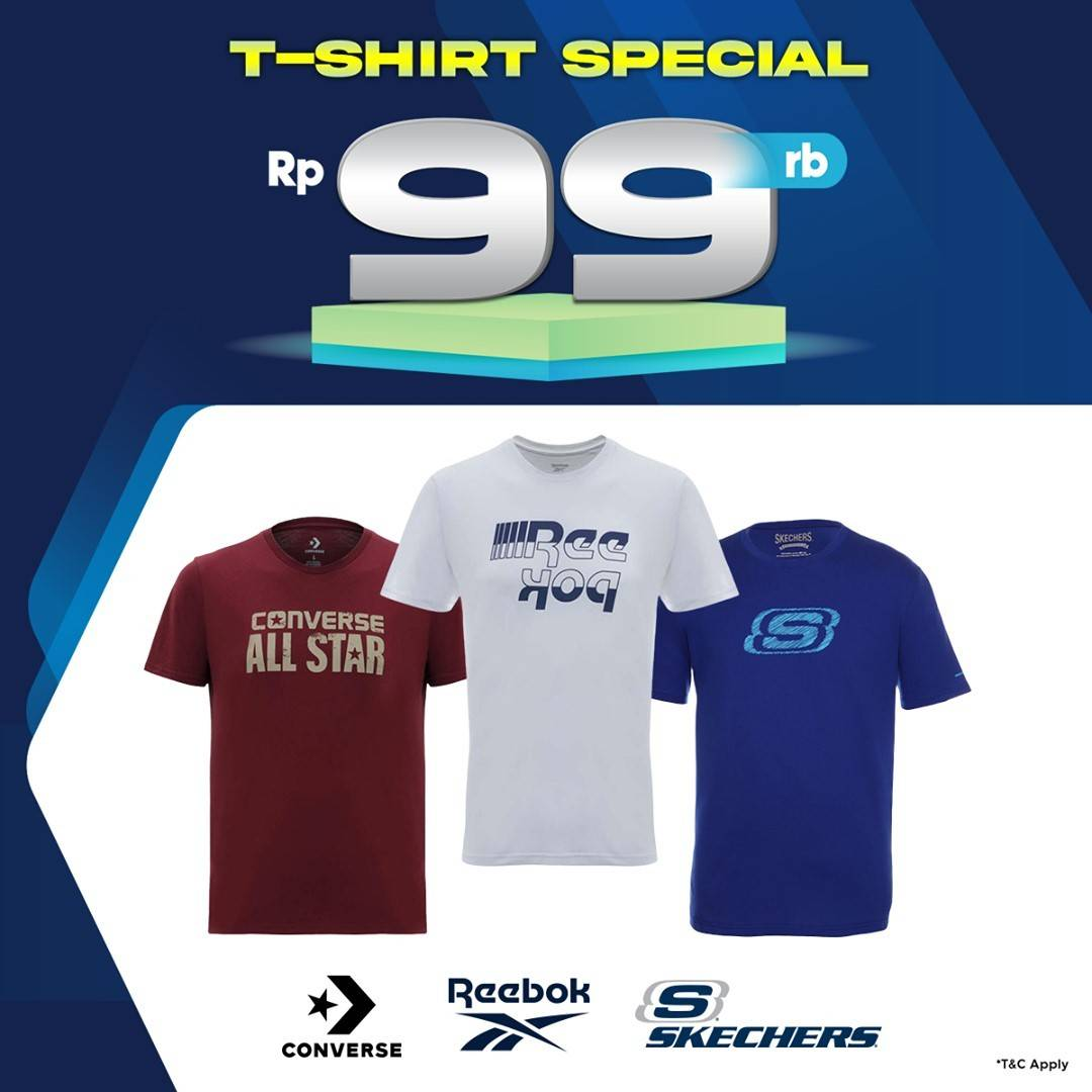Diskon Planet Sports T-Shirt Special Price Only Rp. 99.000