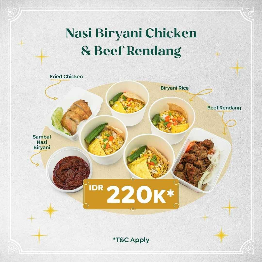 Promo diskon Papparich Promo Family Package Best For 4 Pax