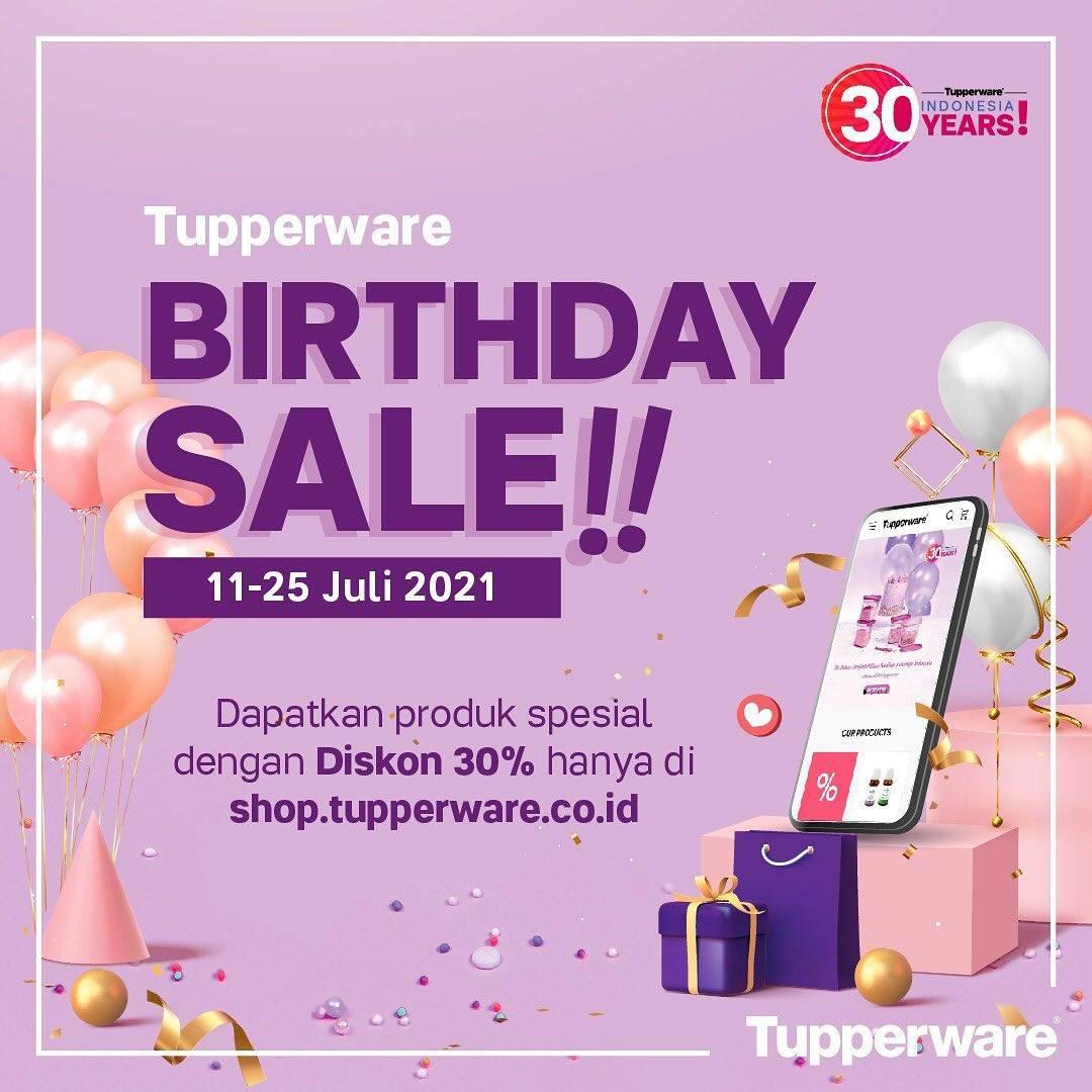 Diskon Tupperware Birthday Sale Diskon 30% Untuk Pembelian Via Website