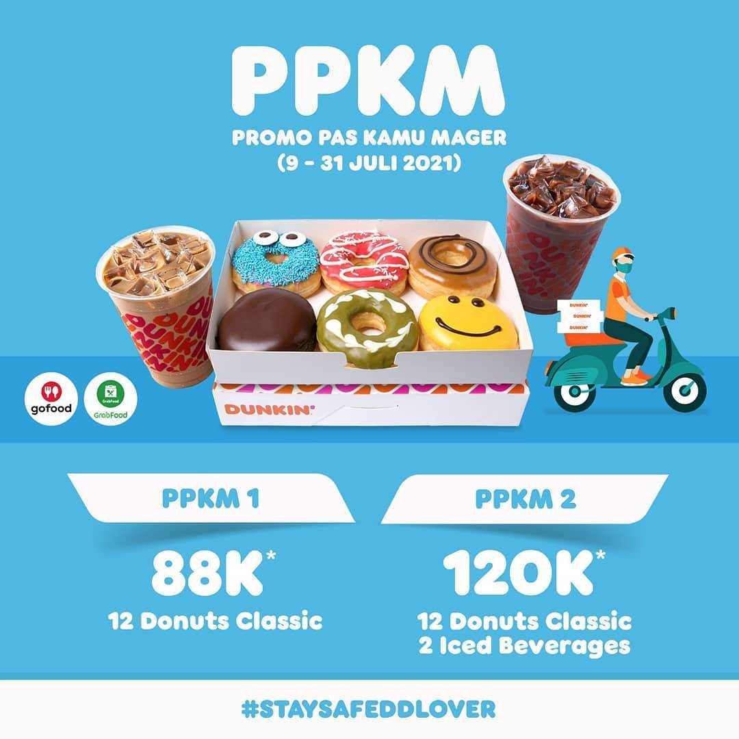 Diskon Dunkin Donuts Promo Pas Kamu Mager Mulai Dari Rp. 88.000