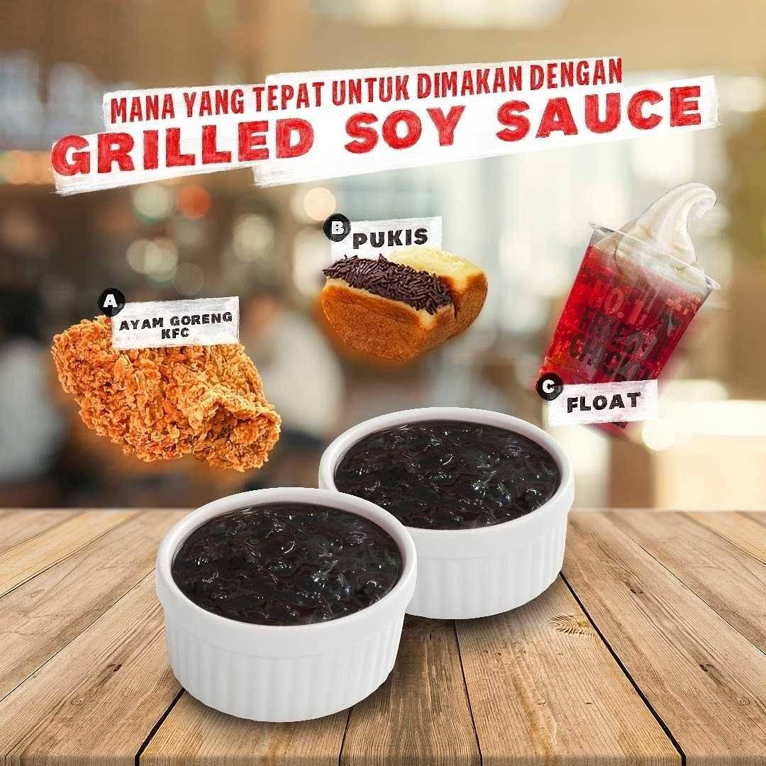 Promo diskon KFC Promo Crazy Deals Grilled Soy Sauce Cuma Rp. 63Ribuan