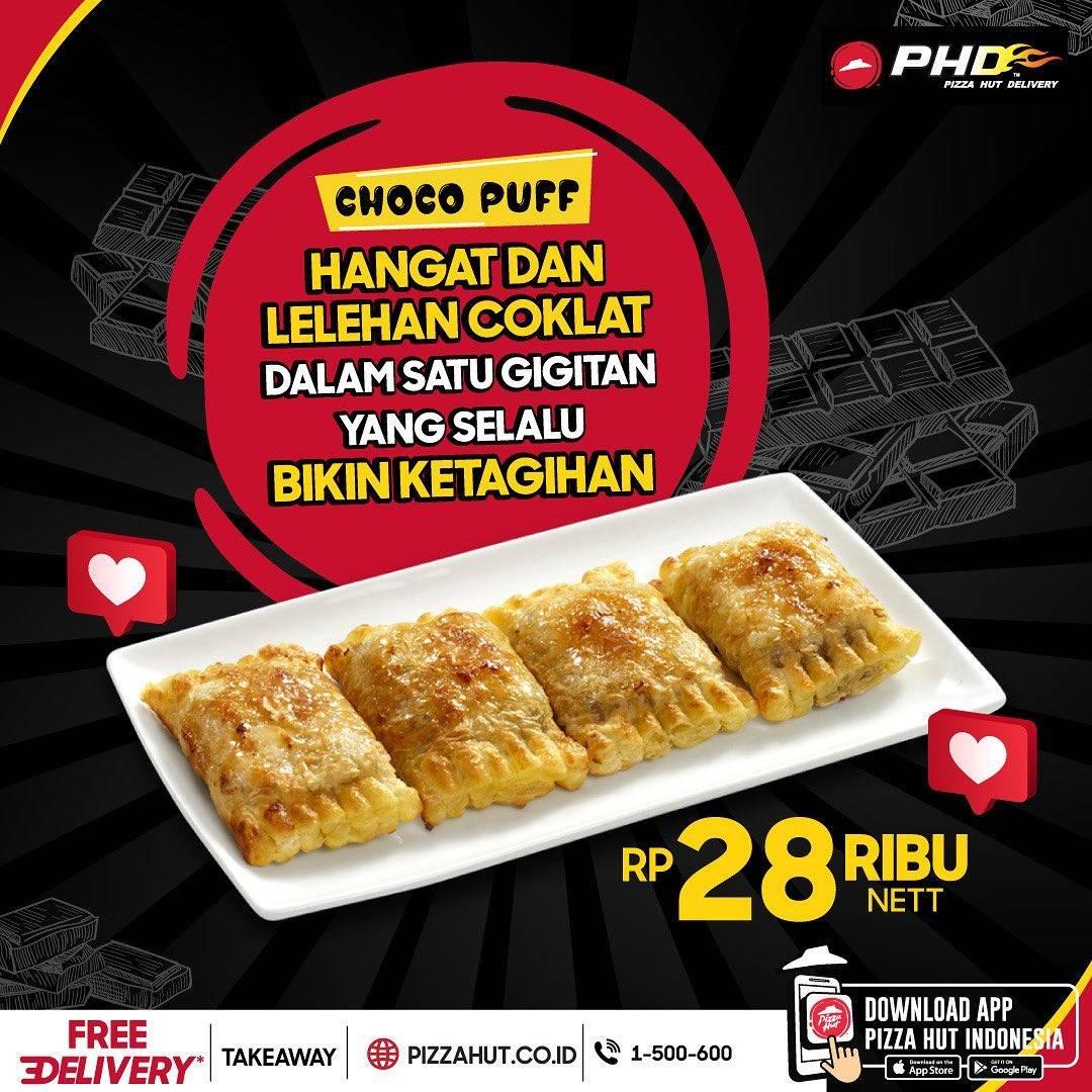 Diskon Pizza Hut Promo Choco Puff Hanya Rp. 28.000