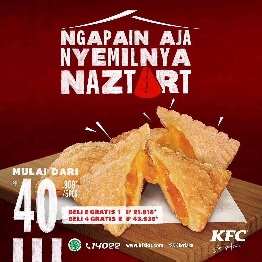 Diskon KFC Promo Cemilan Mulai Dari Rp. 40.909