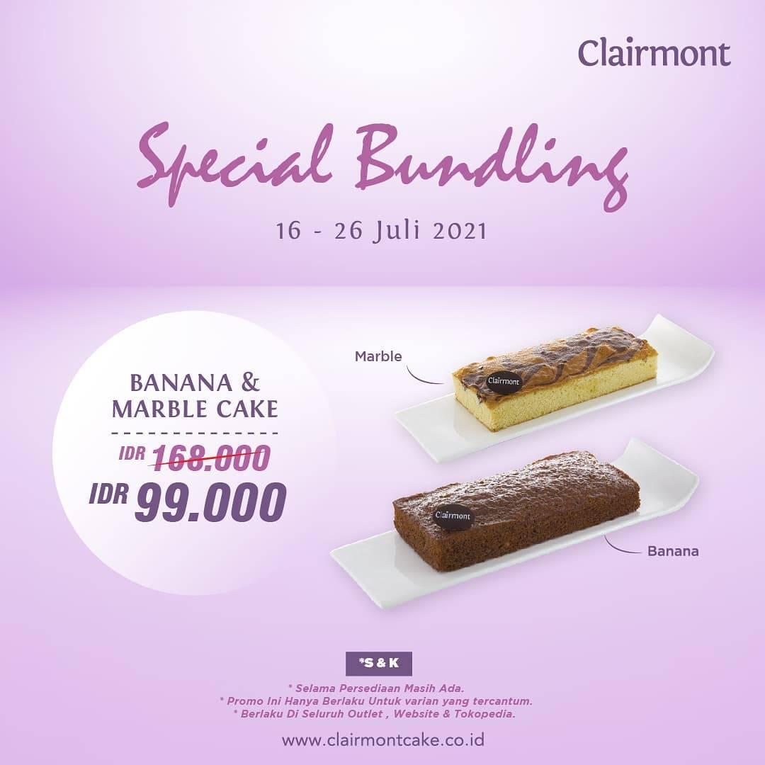 Diskon Clairmont Patisserie Promo Special Bundling Hanya Rp. 99.000