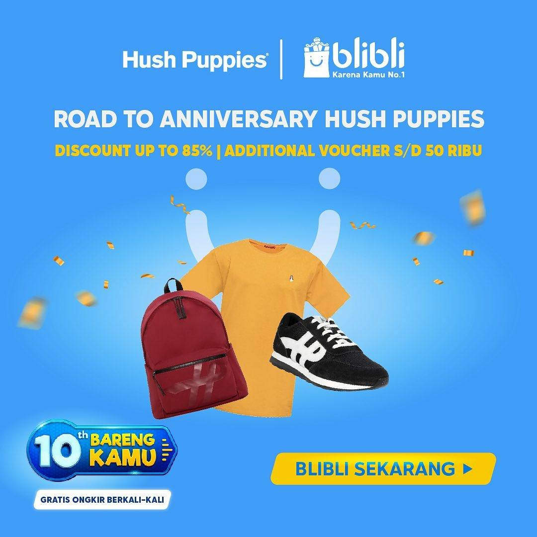 Diskon Hush Puppies Discount Up To 85% Off On Blibli