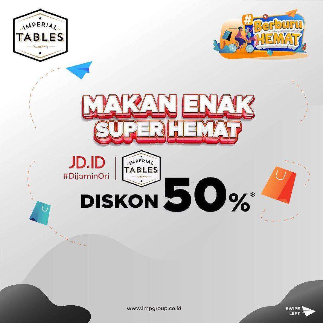 Diskon Imperial Tables Discount 50% Off On JD.ID