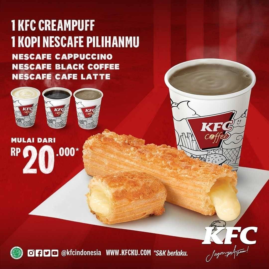 Promo diskon KFC Promo Kombo Coffee Mulai Dari Rp. 20.000