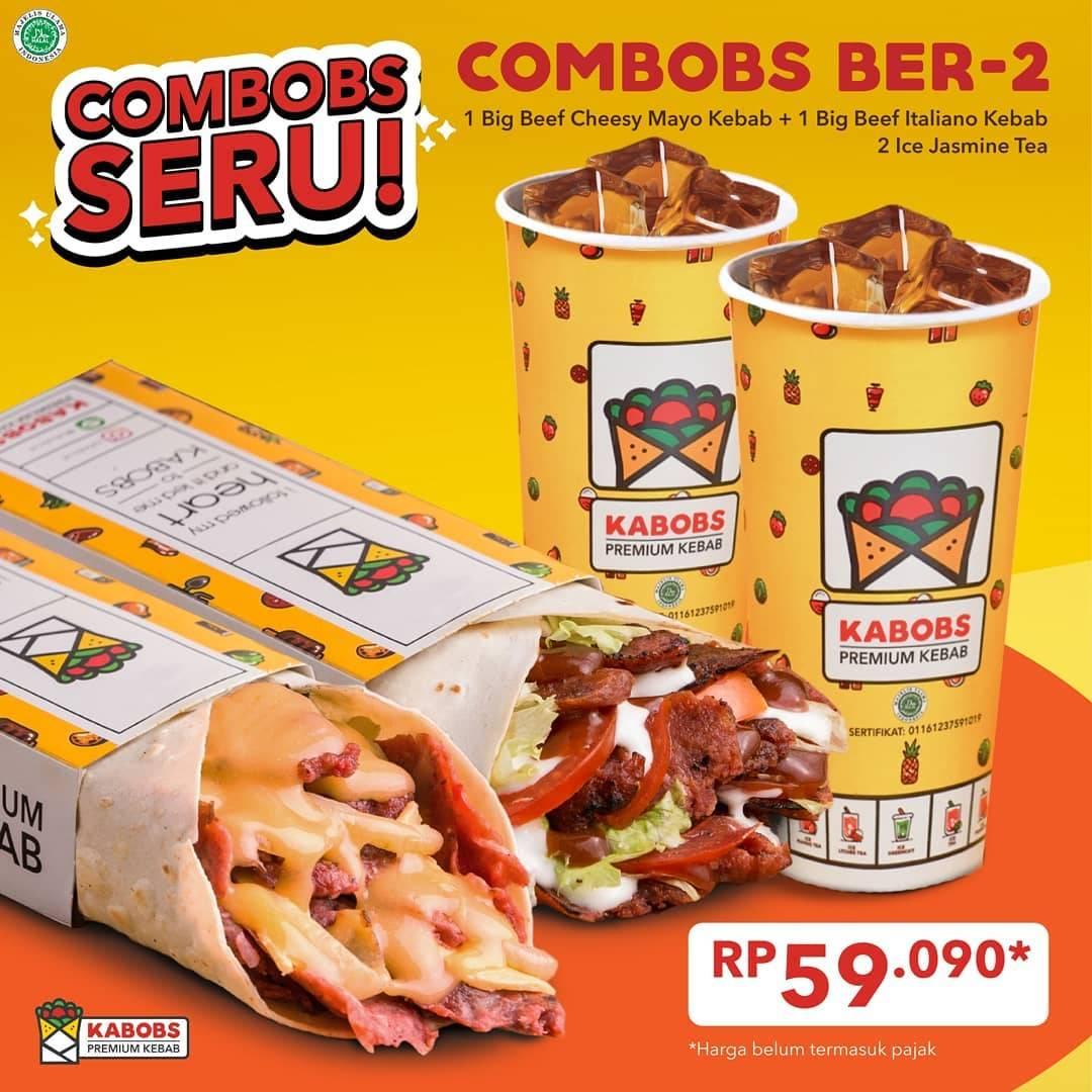 Diskon Kabobs Promo Combobs Seru Hanya Rp. 59.090