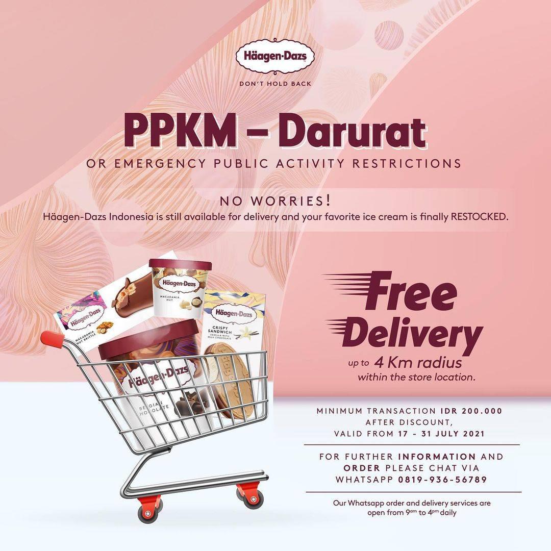 Diskon Haagen Dazs Free Delivery