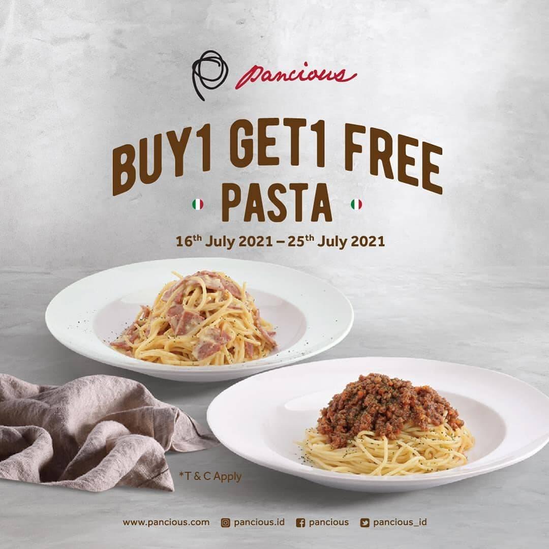 Diskon Pancious Buy 1 Get 1 Free Pasta