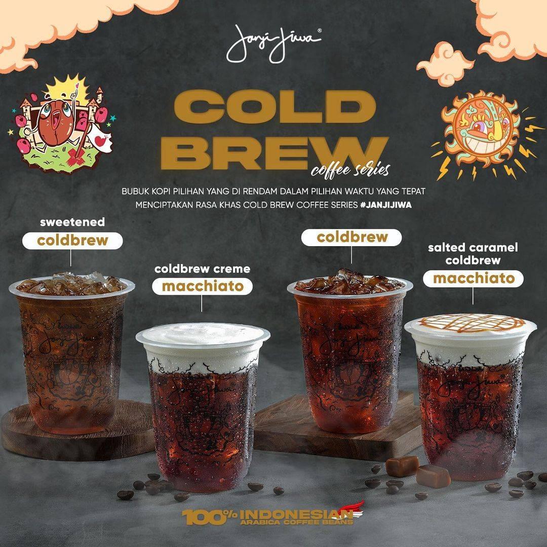Diskon Kopi Janji Jiwa Promo Cold Brew Coffee Series Mulai Dari Rp. 13.000