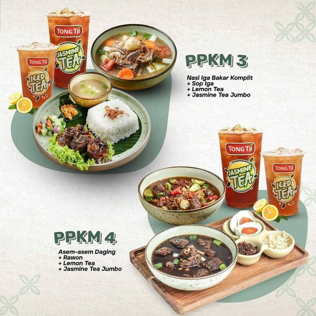 Promo diskon Tong Tji Promo PPKM Discount 15% Off On GrabFood
