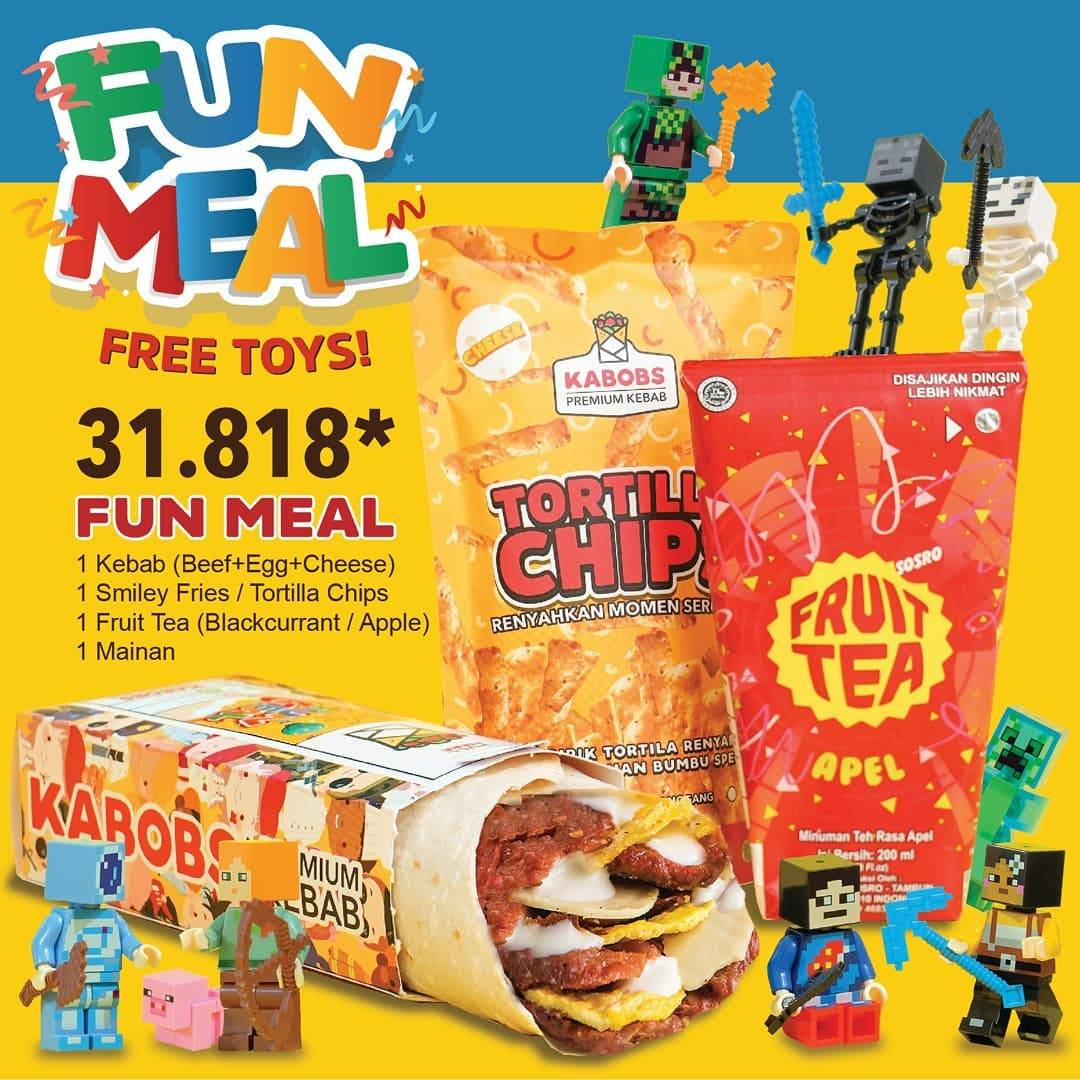 Diskon Kabobs Promo Fun Meal Free Toys