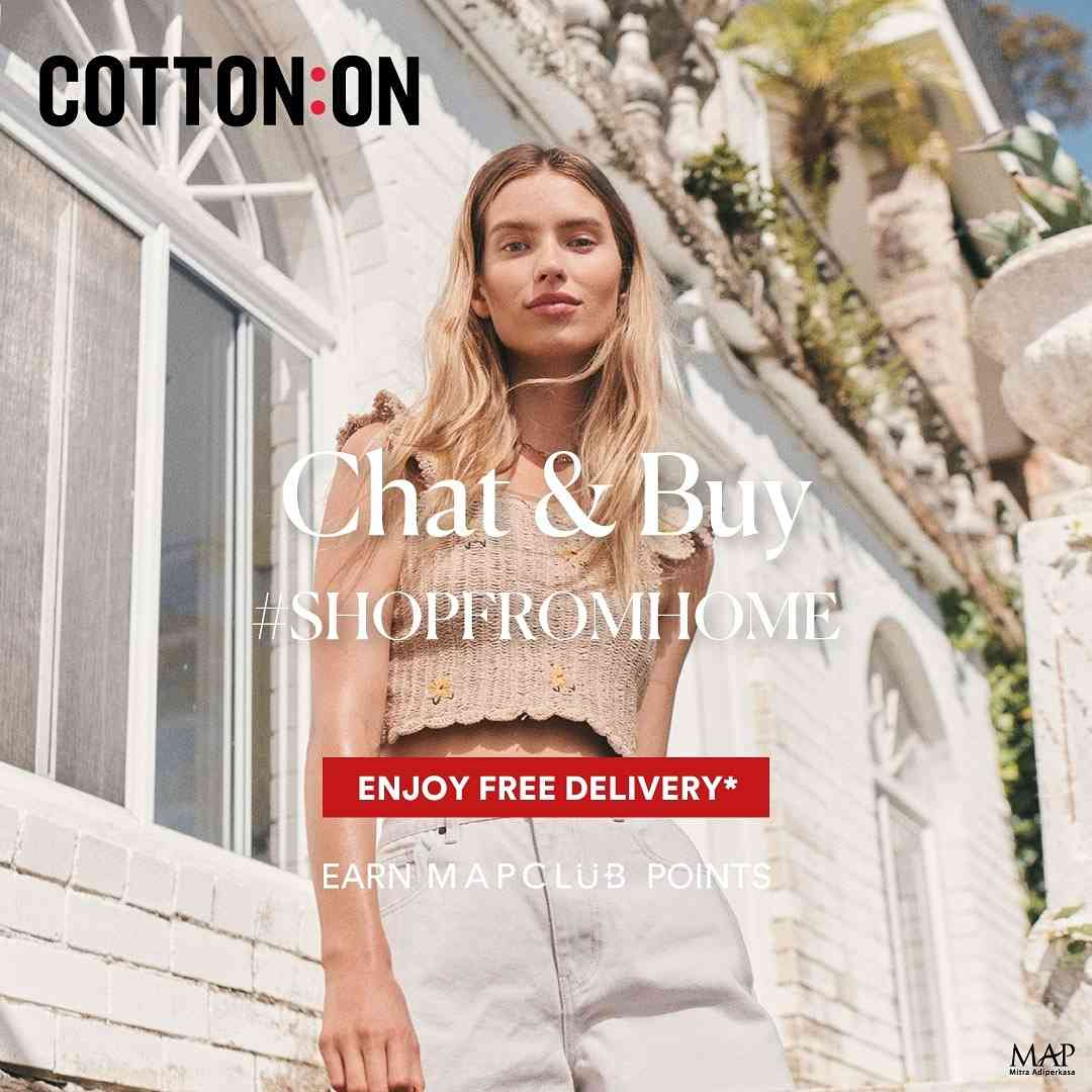 Diskon Cotton On Free Delivery