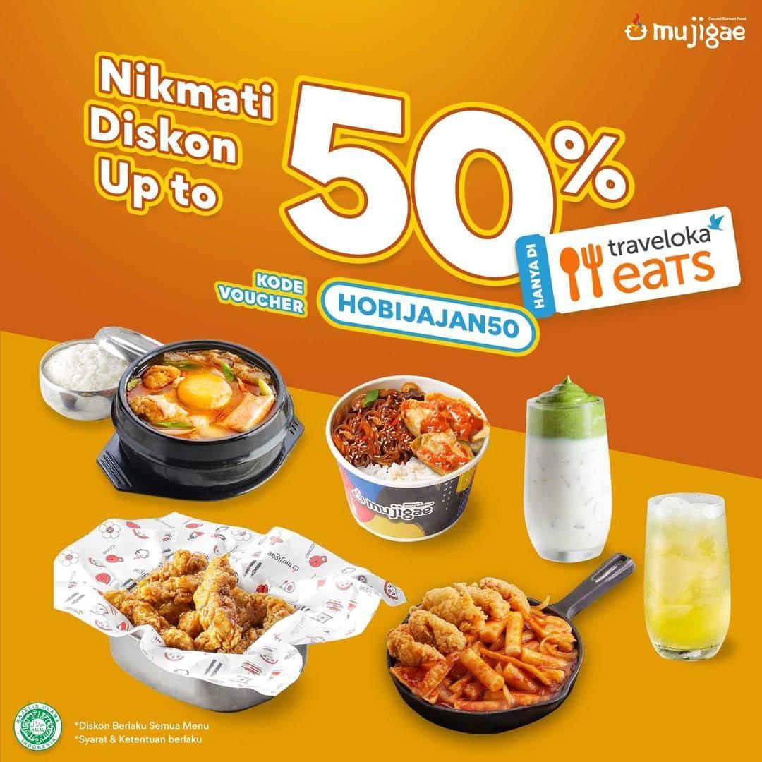 Diskon Mujigae Diskon Up To 50% Dengan Traveloka Eats