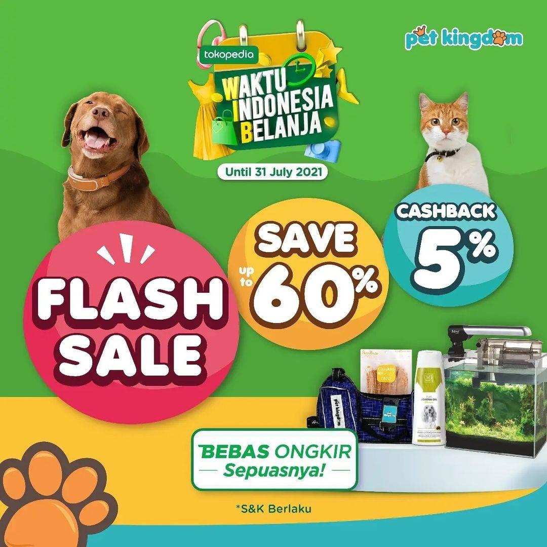 Diskon Pet Kingdom Flash Sale Di Tokopedia