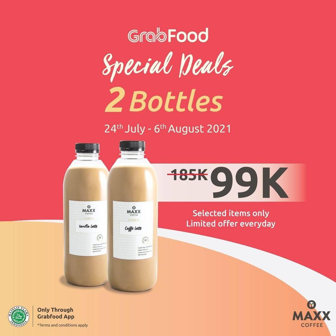 Diskon Maxx Coffee Special Deals 2 Bottles Hanya Rp. 99.000