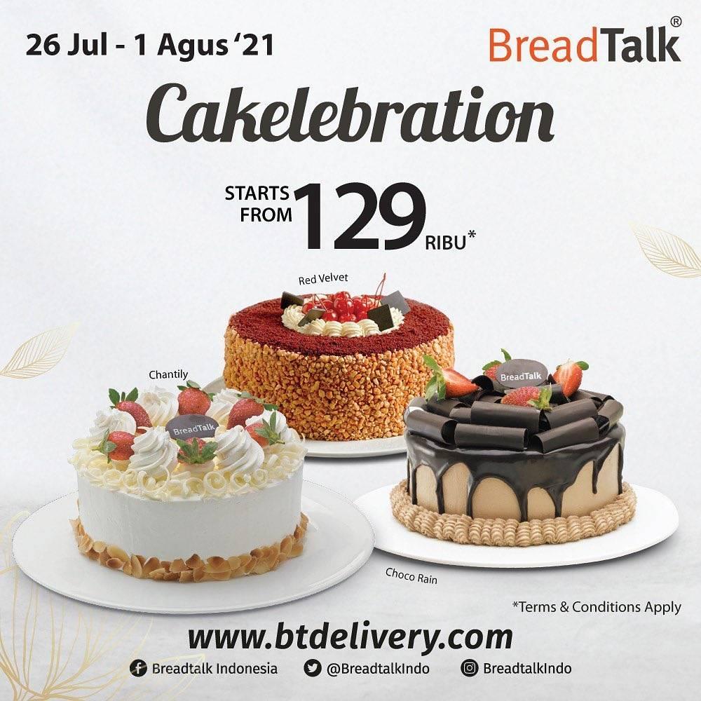 Diskon Bread Talk Promo Cakelebration Start From Rp. 129.000