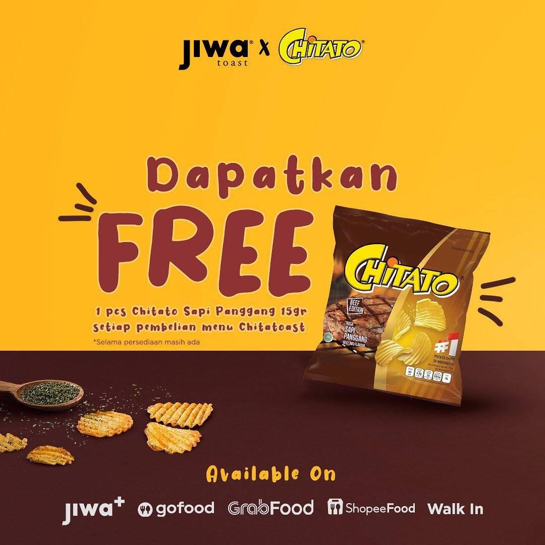 Diskon Jiwa Toast Get Free Chitato