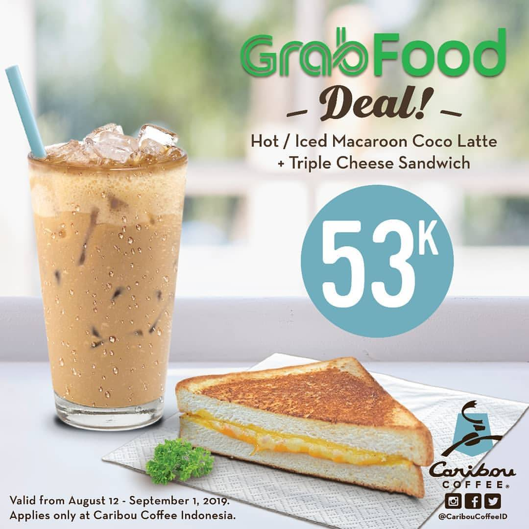 Caribou Coffee Harga Spesial Menu Pilihan via GRABFOOD