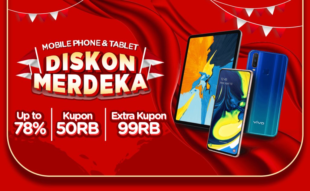 JD.ID Promo DISKON MERDEKA Mobile Phone & Tablet