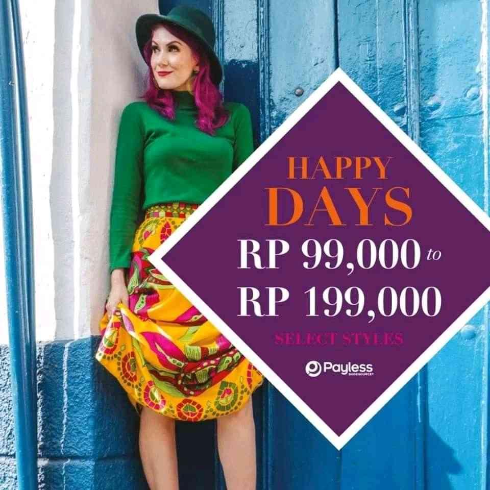 Payless Promo Spesial Kemerdekaan, Harga Spesial Mulai Rp.99.000!