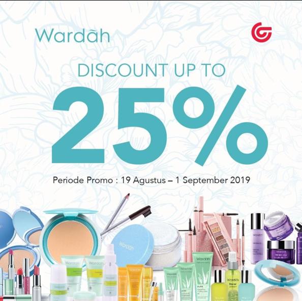 MATAHARI Department Store Promo DISKON hingga 25% untuk produk dari WARDAH