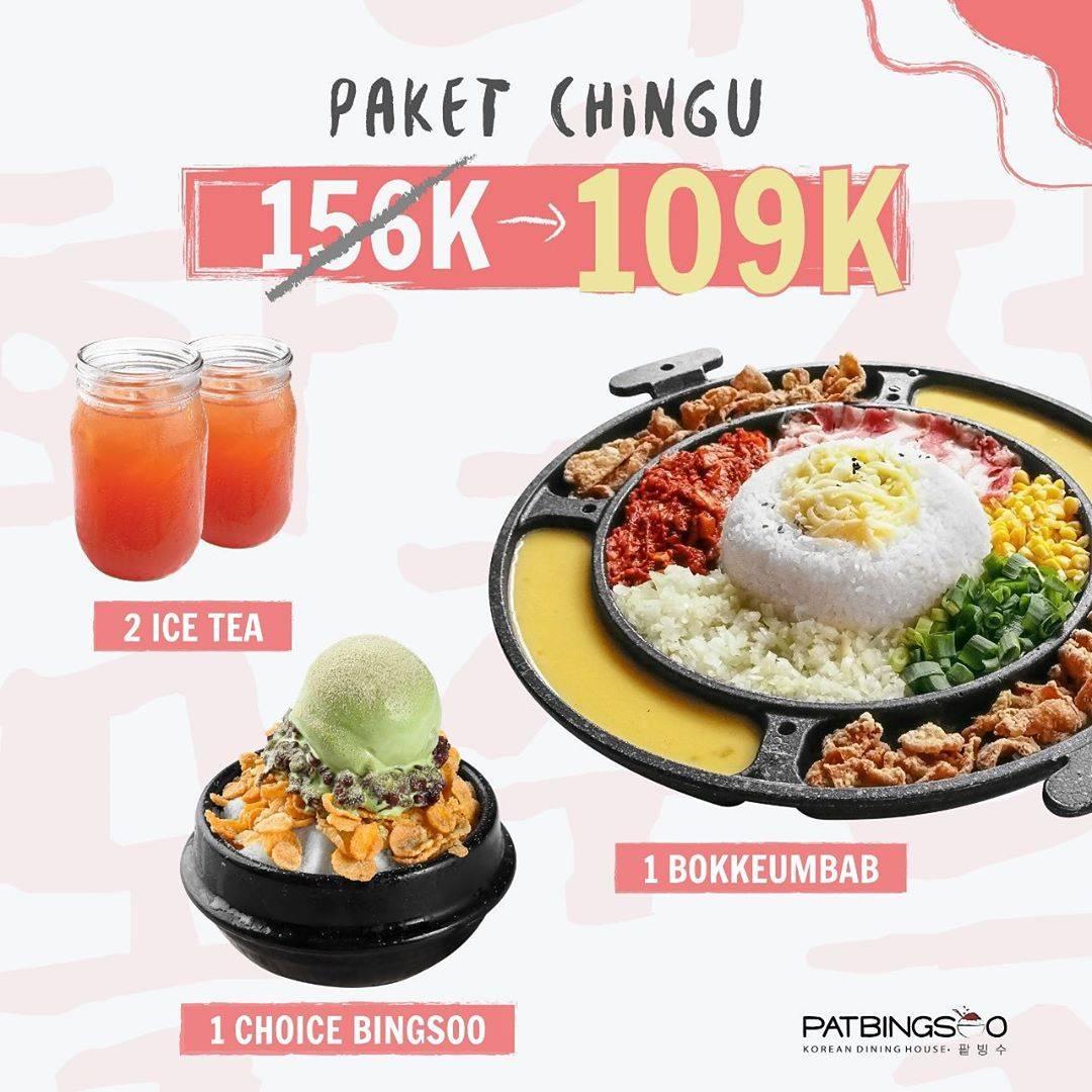 Patbingsoo Promo Paket CHINGU only 109 K*
