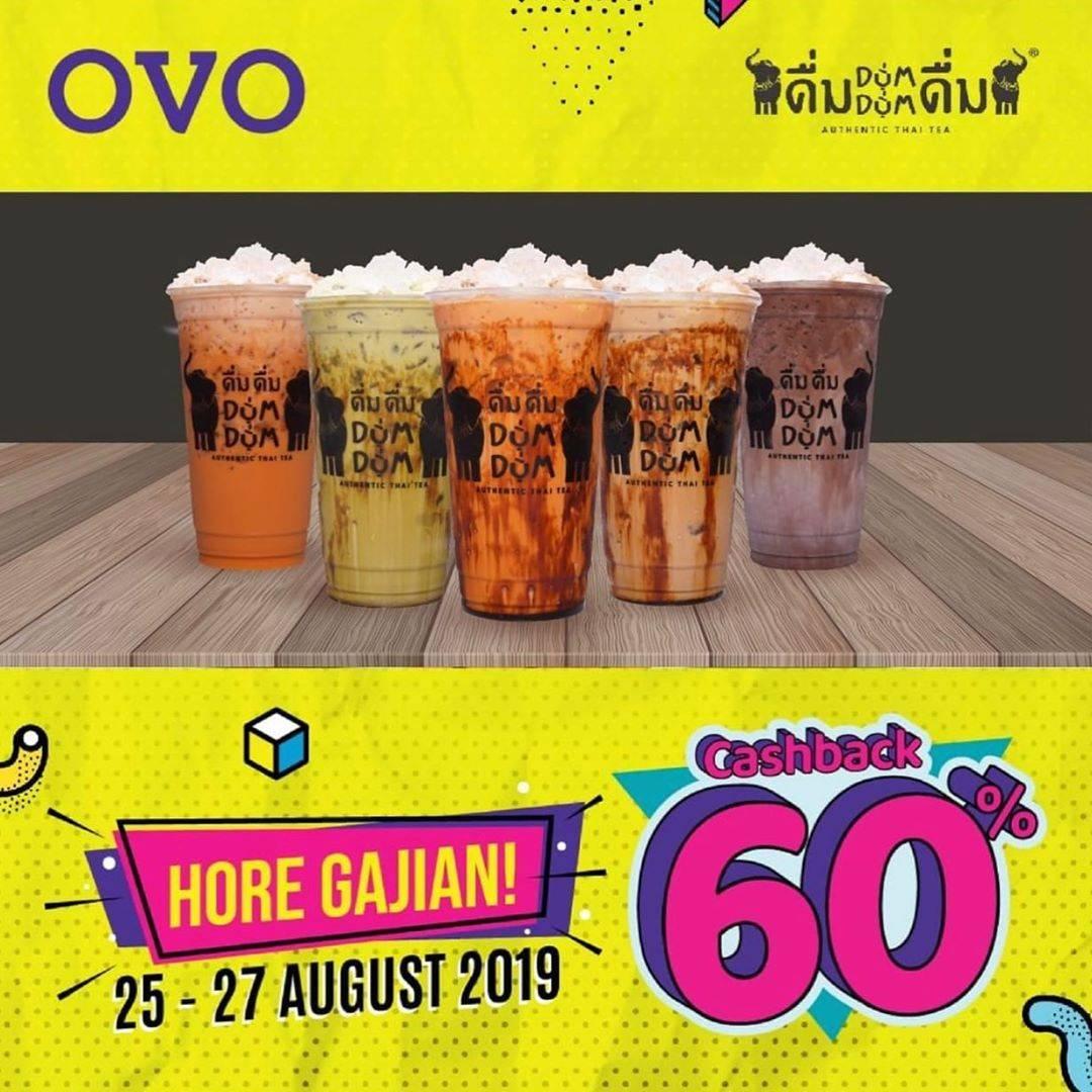 Dum DUm Promo Cashback 60% dengan OVO