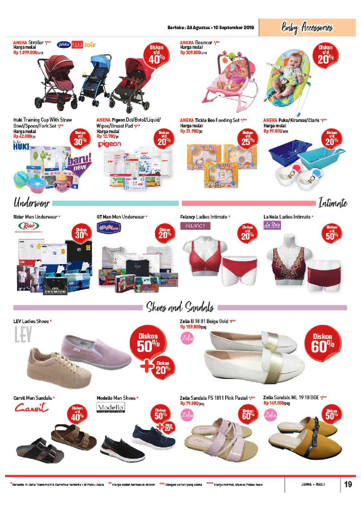 Promo diskon Katalog CARREFOUR terbaru periode 28 Agustus – 10 September 2019