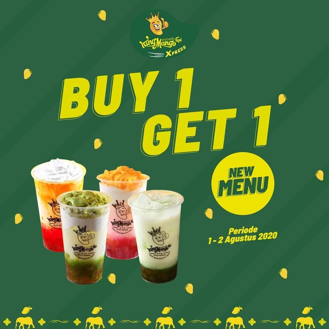 Diskon Promo King Mango Buy 1 Get 1 Free Varian Terbaru