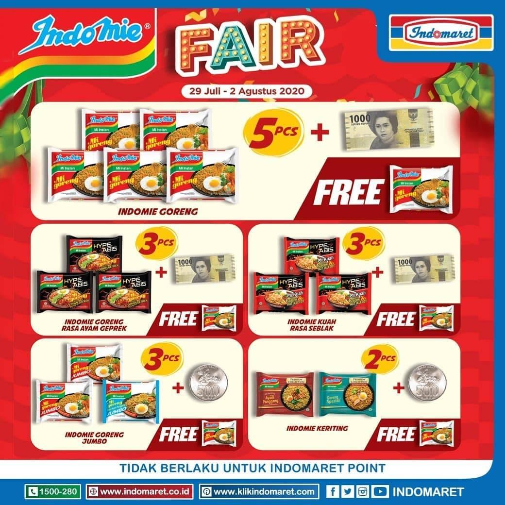 Diskon Katalog Promo Indomaret Indomie Fair Periode 29 Juli - 2 Agustus 2020