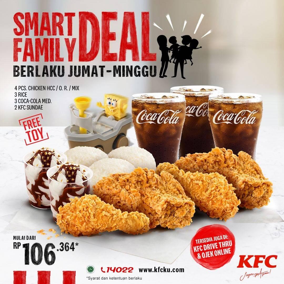 Diskon KFC Promo Smart Family Deal