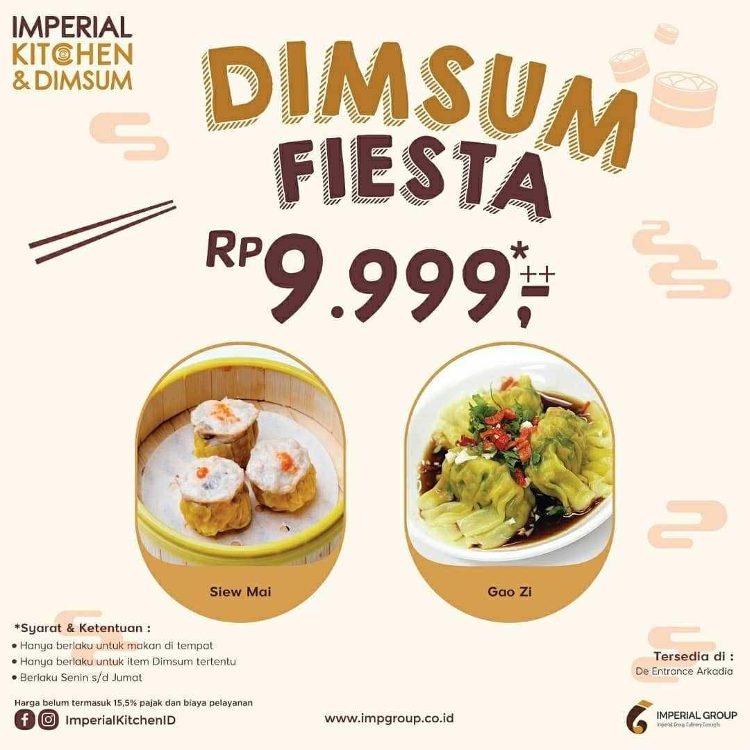 Promo diskon Promo Imperial Kitchen & Dimsum Dimsum Fiesta Dengan Harga Rp. 9.999